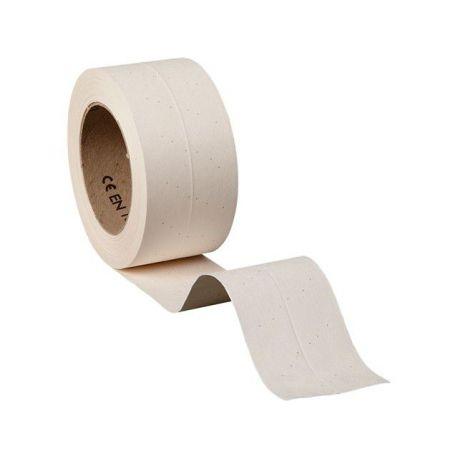 Bande papier microperfor pour joints entre plaque for Bande a joint papier