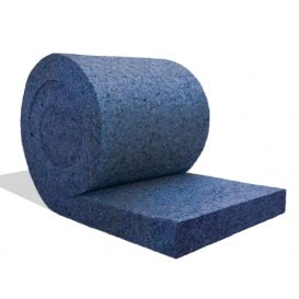 Rouleau laine d'isolation Métisse RT 20kg/m3