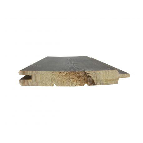 Bardage gris mélèze