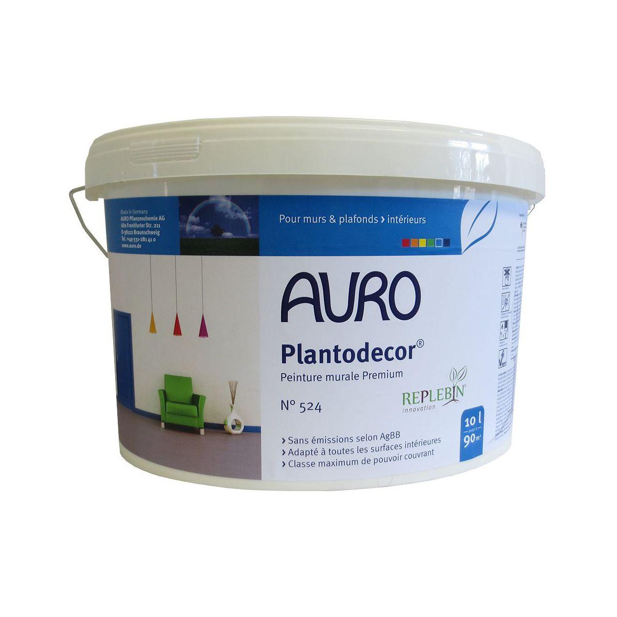 Peinture auro plantodecor premium 524 for Nouvelle peinture murale