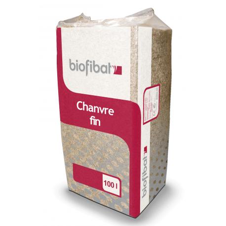 Chènevotte fine Biofibat pour enduit