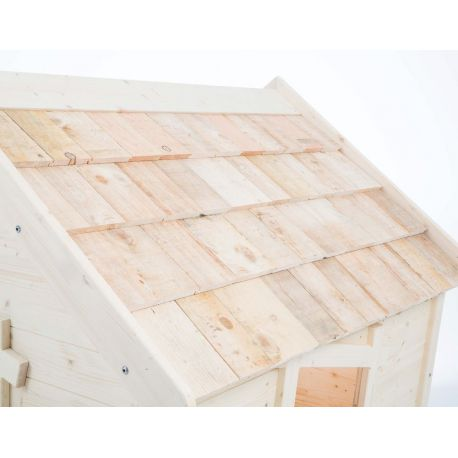 Tuiles de bois pour les cabanes Aldebaran