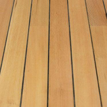 Parquet acacia robinier pont de bateau kenzai for Joint de salle de bain noir
