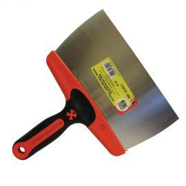 Couteau à enduire inox trempé manche bi-matière