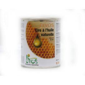 Cire à l'huile naturelle finition du bois BIVOS 375 Livos