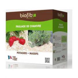 Paillage de chanvre Biofib Garden