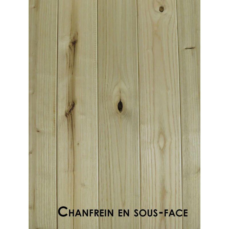 Parquet châtaignier choix D 23x100 mm