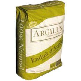 Enduit de finition Argilus avec anas de lin