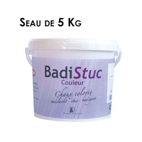 Chaux colorée d'origine naturelle BadiStuc