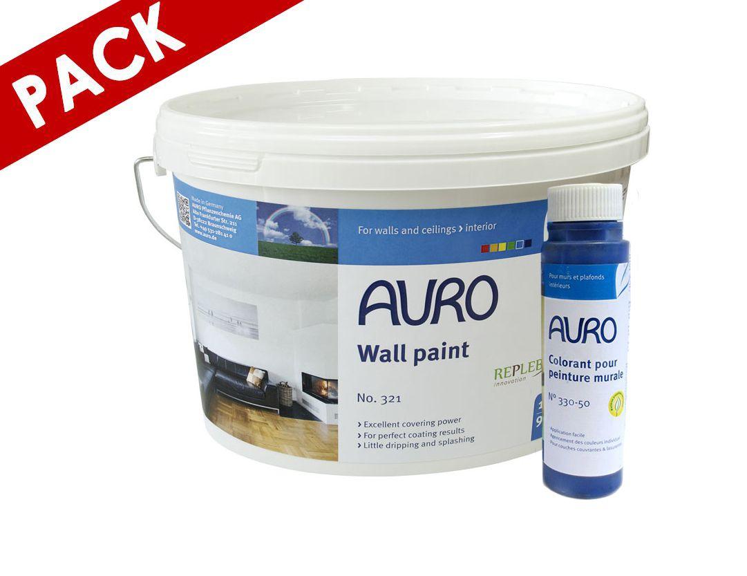 peinture mate auro n321 10l 1 colorant 025l gratuit - Peinture Colorant