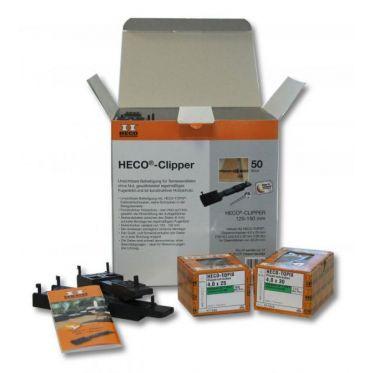 Kit Clipper système de fixation pour terrasse HECO