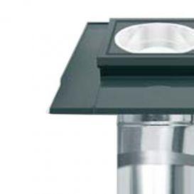 Puits de lumière SR rigide + vitre plane Fakro