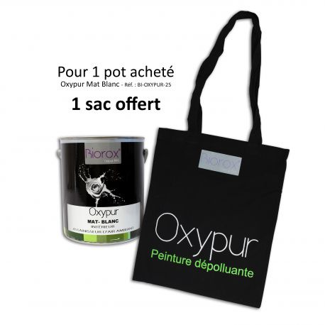 Peinture d'origine végétale BiOROX Oxypur Mat Blanc