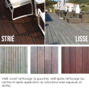 Lame de terrasse Bamboo X-treme double face
