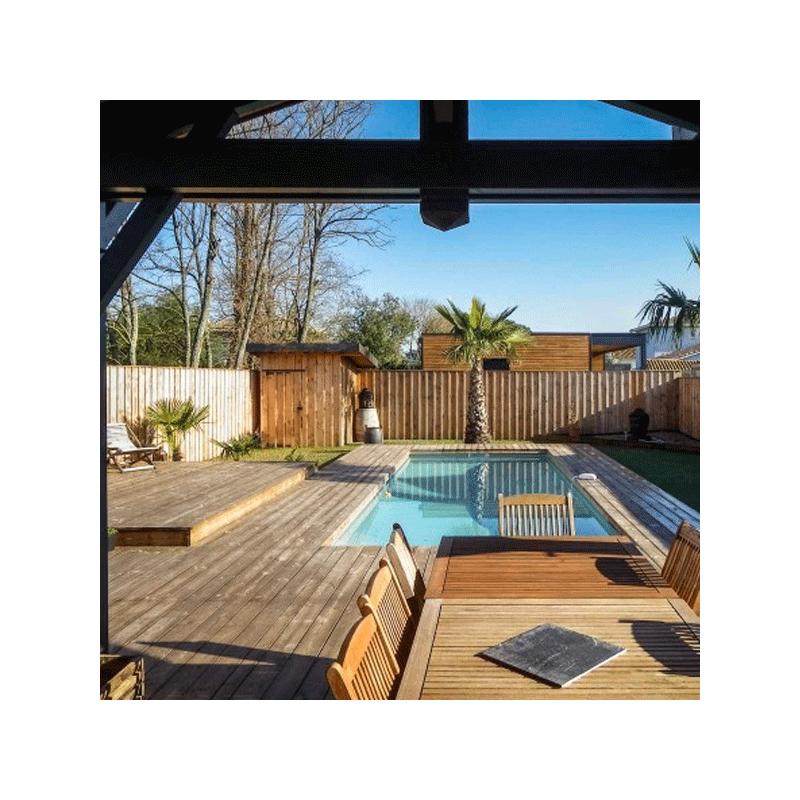 lames de terrasse pin sylvestre stockolm couleur marron classe 4. Black Bedroom Furniture Sets. Home Design Ideas