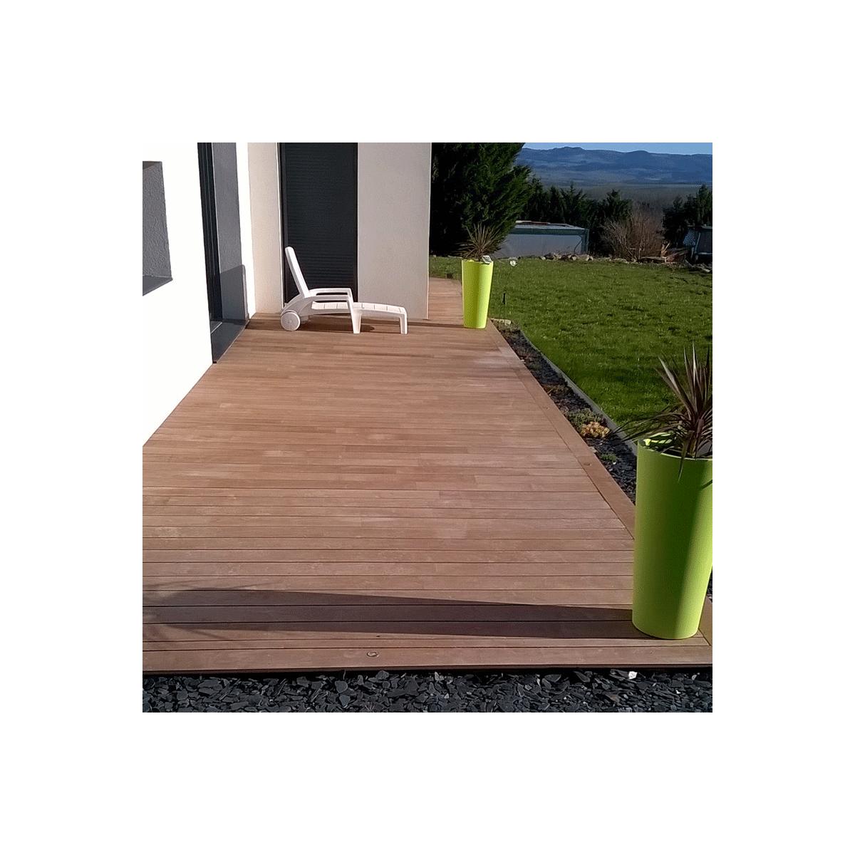 Lames de terrasse en bois hevea - Lames de terrasse en bois ...