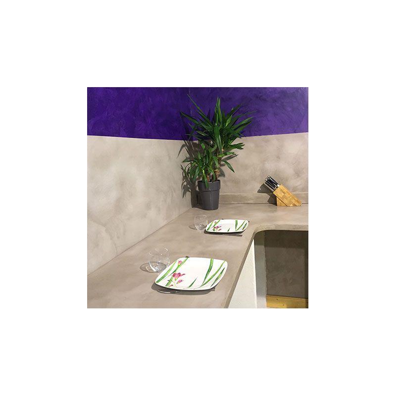 Kit béton ciré décoratif Terrazzo à haute résistance