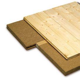 Panneau isolant pour plancher Pavatherm Profil 175 kg/m³