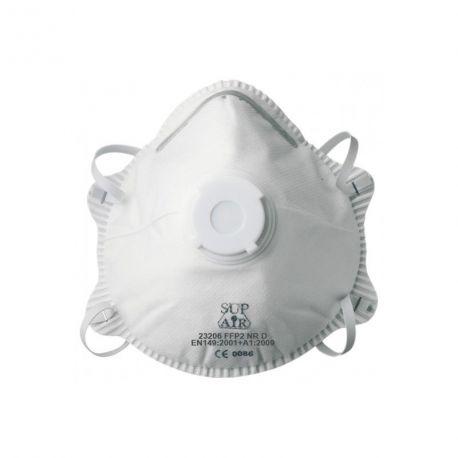 Masques respiratoires à usage unique