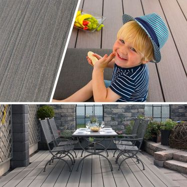 Terrasse composite Torro TIMBER Glacier