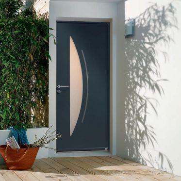 Porte d'entrée aluminium Zilten