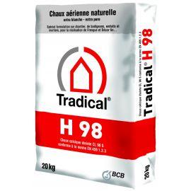 Chaux aérienne en poudre Tradical H98
