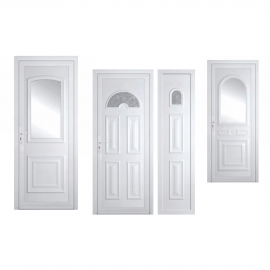 """Porte d'entrée aluminium gamme """"éco"""" Bremaud"""