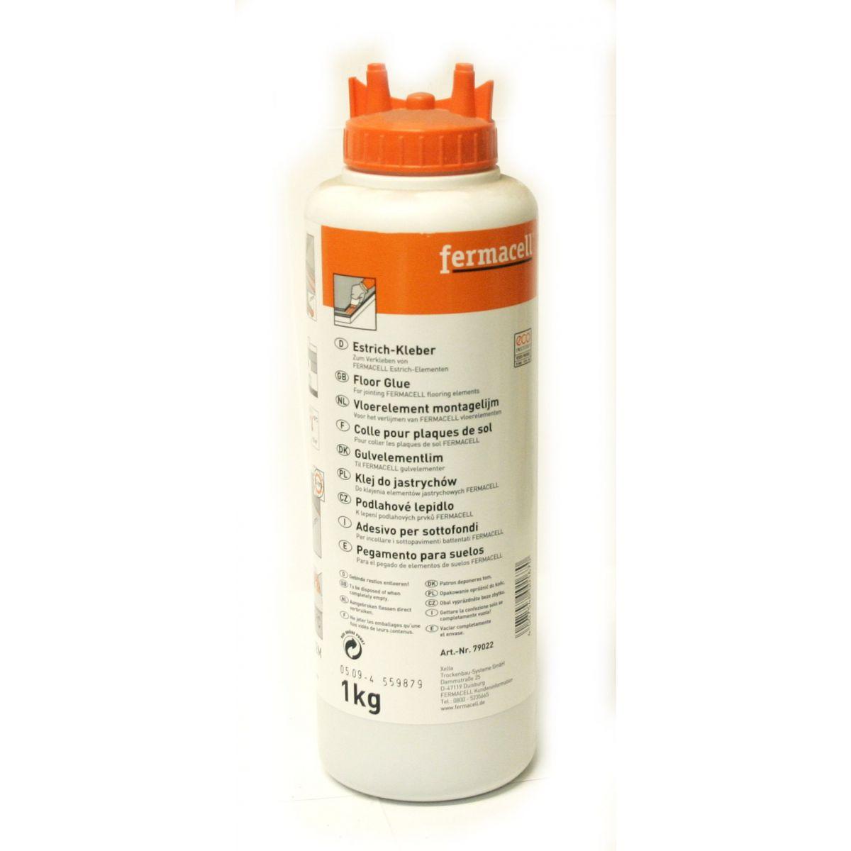 Colle pour plaque sol fermacell 1kg for Plaque de sol fermacell prix