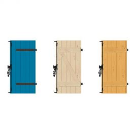 volet en bois et roulant kenzai. Black Bedroom Furniture Sets. Home Design Ideas