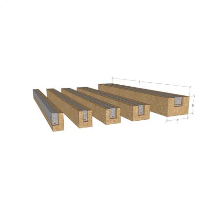 Equerre support linteaux