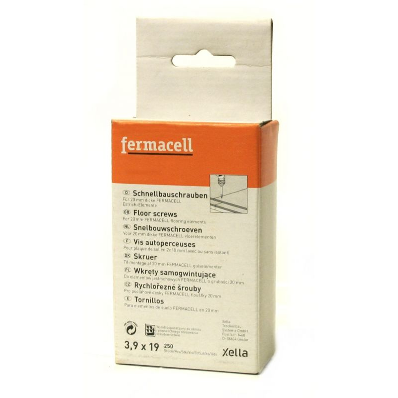 Vis autoperceuses fermacell sp cial pose plaques sol for Prix pose fermacell