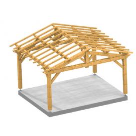 Garage 2 pentes FARM en bois