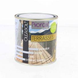 Saturateur pour bois extérieurs Oleasol Terrasses Biorox