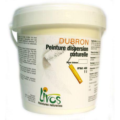 Peinture dispersion naturelle DUBRON Livos sans solvant