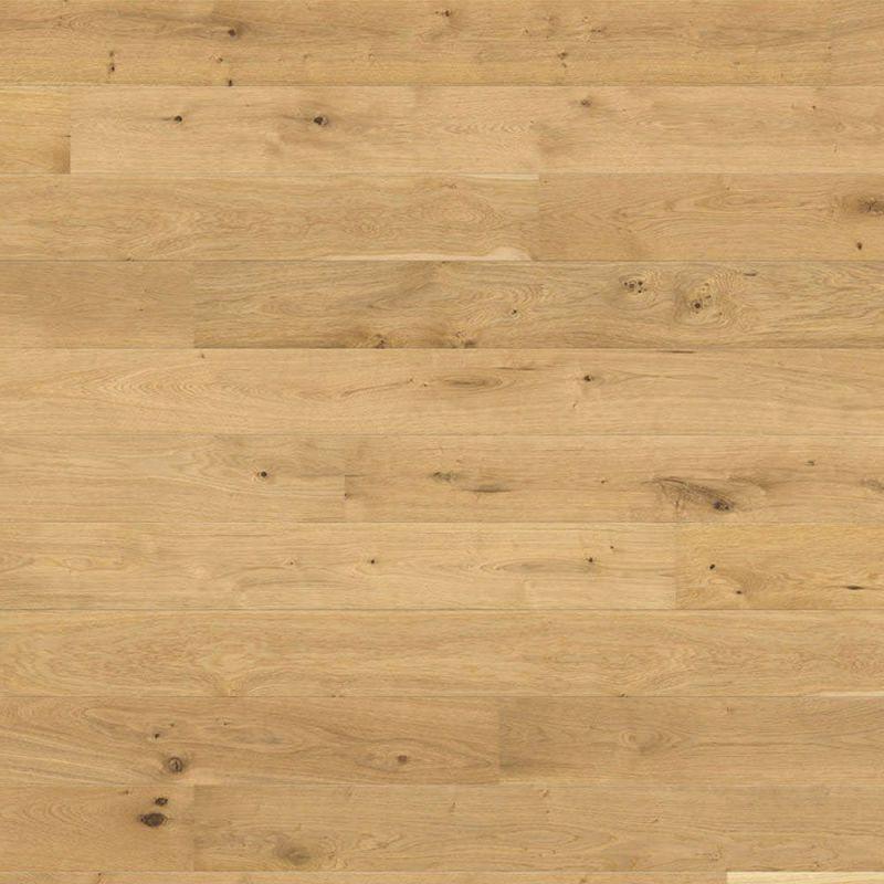 Parquet planche large à l'ancienne Chêne Universal Brossé