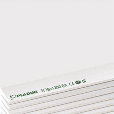 Plaque de plâtre BA 18 STD 260 Pladur