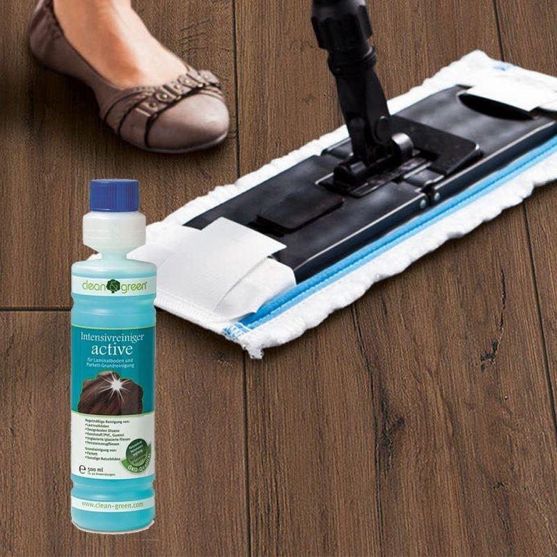 Nettoyant Intensif parquet Clean & Green Active Haro