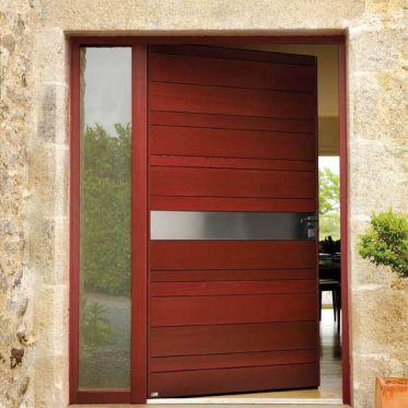 Porte d'entrée Nativ 1 en Red Cedar