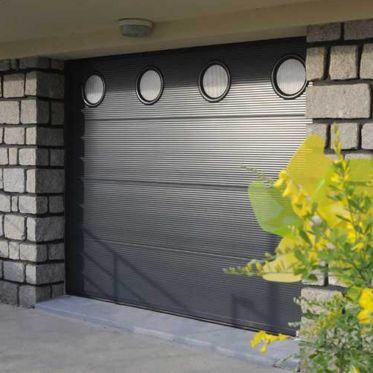 Porte de garage en acier double paroi isolé France Fermeture