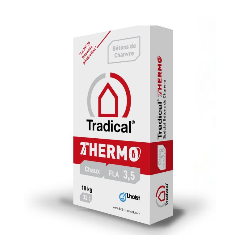 Enduits Thermo chanvre Tradical