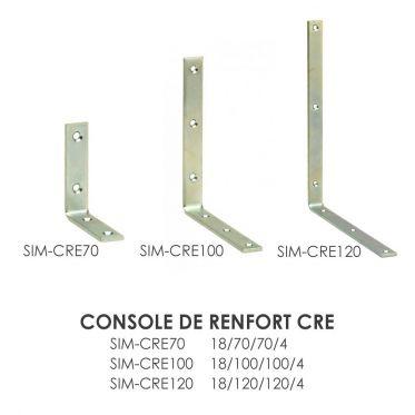Console de renfort CRE Simpson