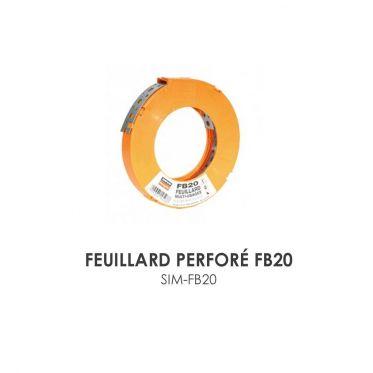 Feuillard perforé FB20 Simpson