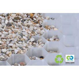Bera gravel fix pro panneaux de graviers blanc