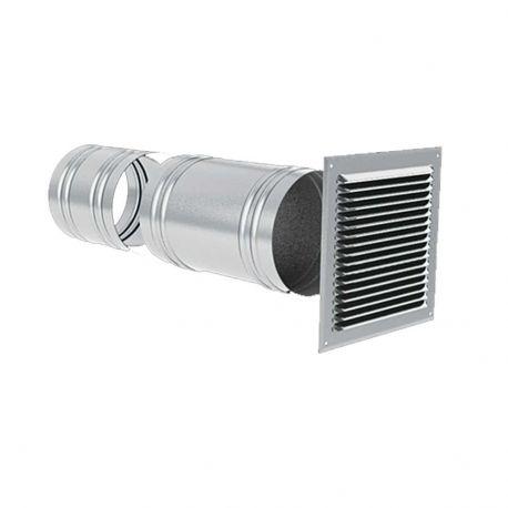 Prises d'air de traversée de mur de façade PA 150 mm de diamètre