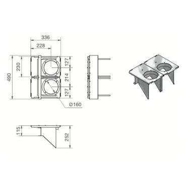 Kit de montage série 320