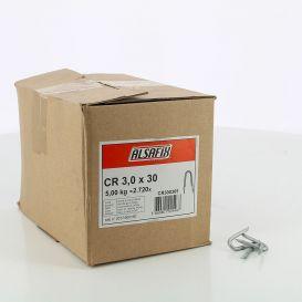 Crampillon Galva HDG 3,0x30 - carton de 5kg