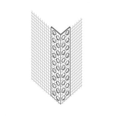 Cornière entoilée PVC n°1023