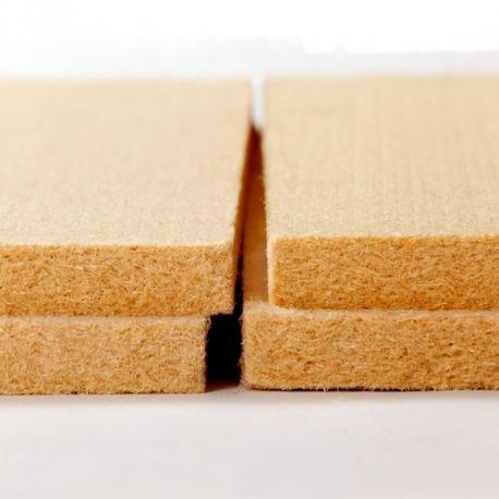 Panneau fibre de bois rigide Isonat Multisol 140 kg/m³