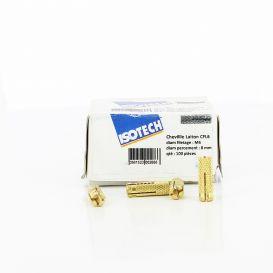 Chevilles laiton CFL 6 - Diamètre percement 8 Isotech