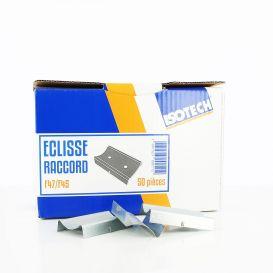 Éclisse raccord F47/F45 pour fourrure 80 mm x 50 Isotech